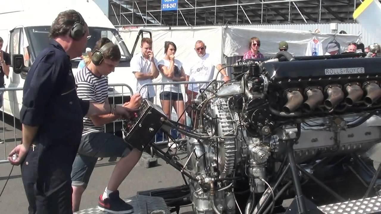Rolls Royce V12 27litre Merlin Engine Pv12 Full Throttle