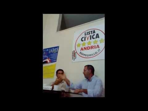 Lista Civica Beppe Grillo Andria incontra Farina parte 4