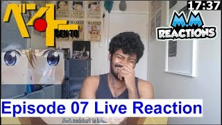 Swimming Pool Fight!! - Ben-To Anime Episode 07 Live Reaction