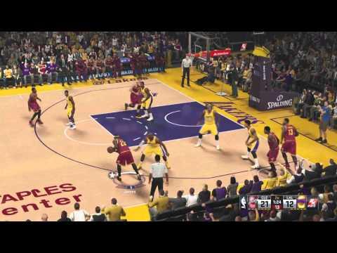 NBA 2K15 : Cavs vs Lakers (60fps)
