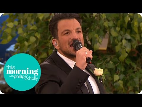 Peter Andre Sings For The First Dance At The Live Wedding | This Morning