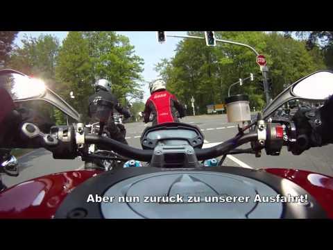 ADAC FSZ Fahrsicherheitstraining Motorrad Kurve + Ausfahrt
