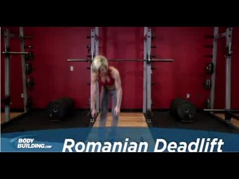 Romanian Deadlift - Leg Exercise - Bodybuilding.com Image 1