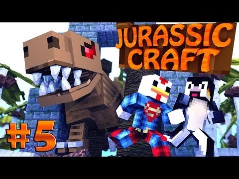 Minecraft | Jurassic Craft - Dinosaurs Ep 5