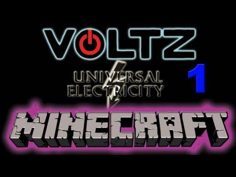 Minecraft Voltz Server Ep 1 Foundations