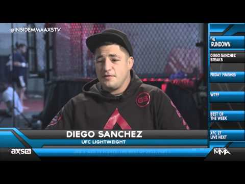 Diego Sanchez Defends His Reckless Style