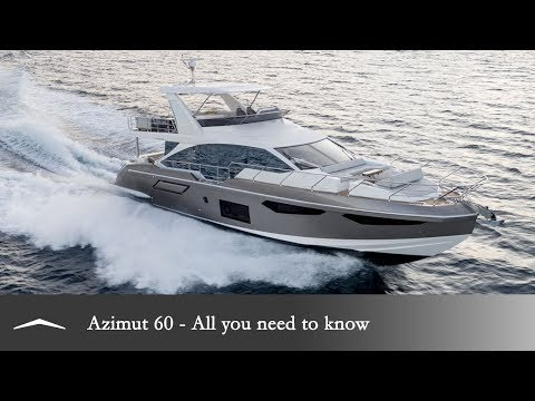 The new Azimut 60: All you need to know.