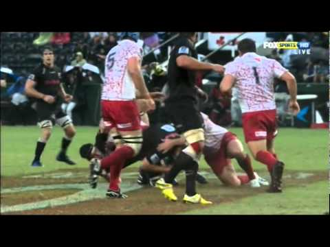 "Digby Ioane's ""spear tackle"" on Marcell Coetzee - Ioane's ""spear tackle"" on Marcell Coetzee"