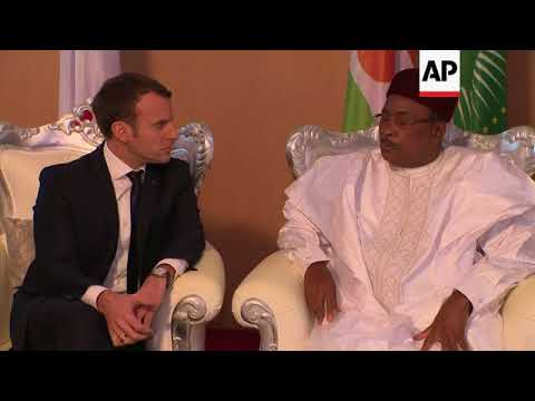 Macron offers support to French, African forces in Niger