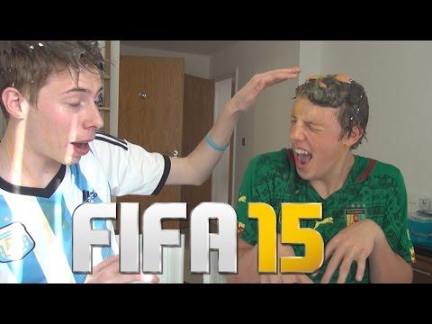 FIFA 15 - EGG SPLAT WAGER!!