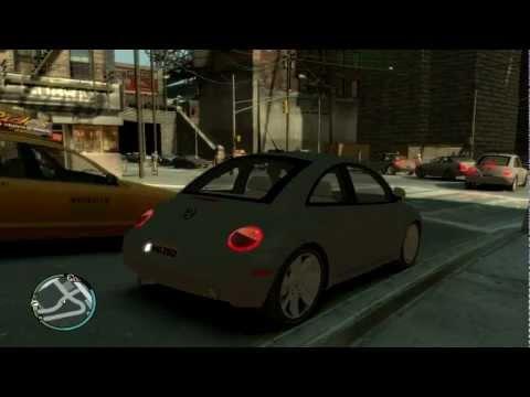 GTA 4 VW bettle mod 2003 volkswagen bettle
