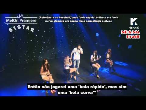 SISTAR (+JooHeon) - 'Naughty Hands' Live [Legendado PT-BR]