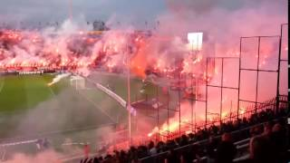 pyroshow GATE 4 Greek Football PARTIZAN - PAOK