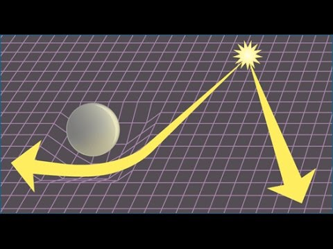 Does light curve? (General Relativity)
