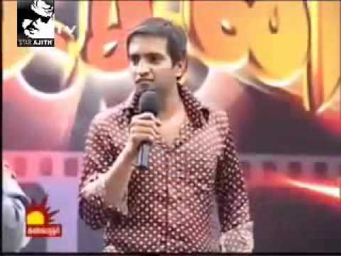 Santhanam Talk About Thala Ajith .. Most Watch video