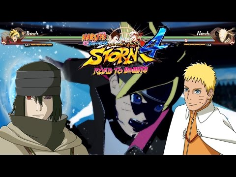 Road To Boruto - All Jutsus, New characters, Jutsus Combo, Epic Battles - Naruto Strom 4