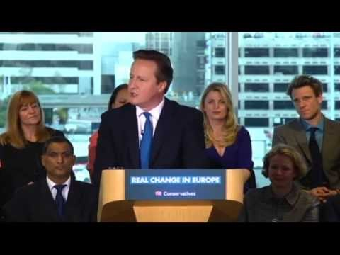David Cameron - European Election Campaign Launch 2014