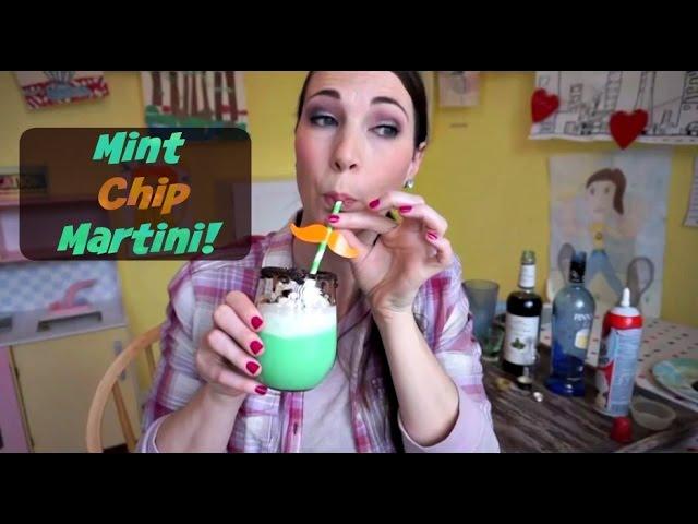 Mint Chip Martini | Pinterest Drink #39 | MamaKatTV
