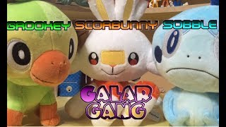 Scorbunny, Sobble, and Grookey Plush Review | My Crippling Bank Account