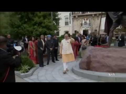India's Prime Minister Modi US Visit - Obama