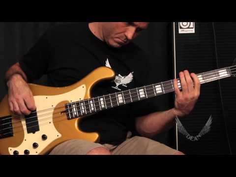 Dean Guitars Product Spotlight: Eric Bass (Shinedown) Signature Hillsboro Bass