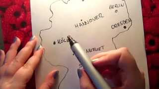 A little bit german geography II (ASMR)