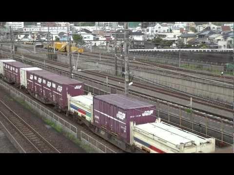 EF210-4号機[岡]牽引1060レ 静岡貨物駅発車