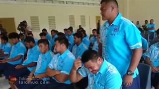 Samoa Under 20 Press Conference