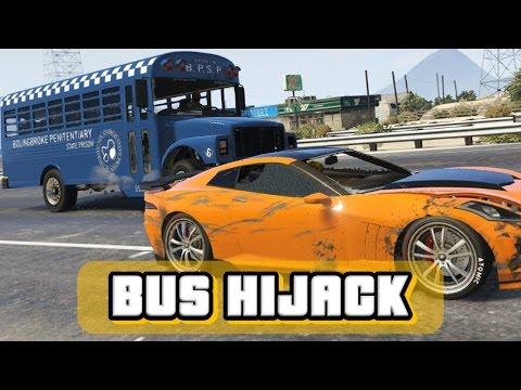 BUS HIJACK | GTA Online Gameplay