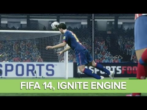 FIFA 14 Gameplay at Xbox One Reveal Event -  EA Sports, Ignite Engine Gameplay