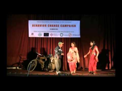 """Hamro Kaam, Ramro Kaam,"" a street drama by Dabali Theatre Group"