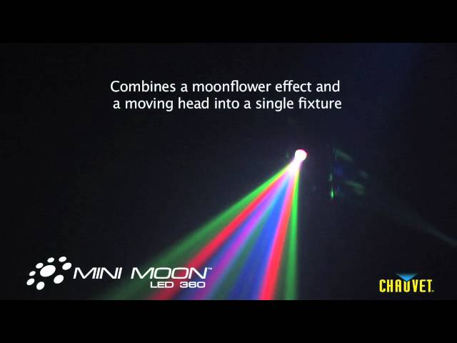 Chauvet Mini Moon rotating LED Moonflower Effect Light
