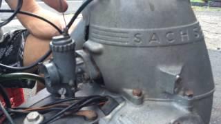 Working Messerschmitt KR200 Engine