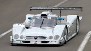 Le Mans 1999 - Peter Dumbreck's HUGE accident! Mercedes CLR-GT1 CRASH!