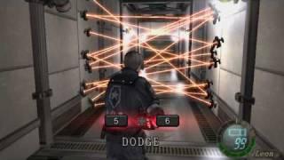 Resident Evil 4: Laser Room