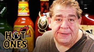 "Joey ""CoCo"" Diaz Breaks Out the Blue Cheese While Eating Spicy Wings 