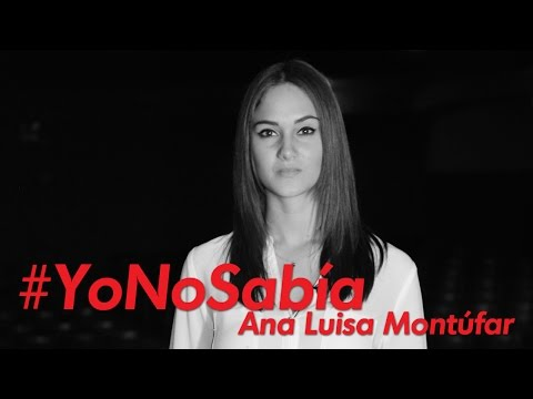 #YoNoSabía con Ana Luisa Montúfar y Gente Positiva