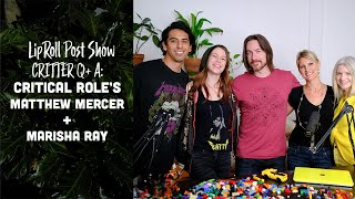 Critical Role's Matthew Mercer and Marisha Ray Answer Fan's Questions