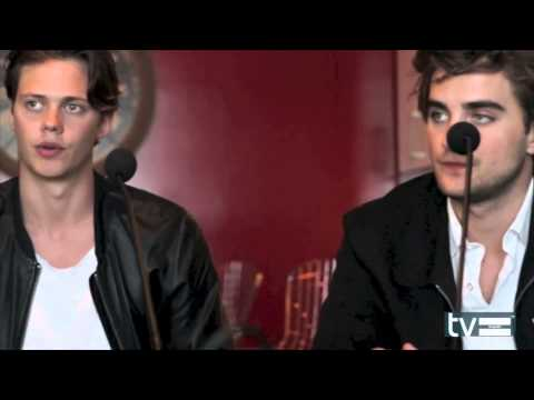 Hemlock Grove Season 2 Interview: Bill Skarsgard & Landon Liboiron