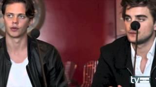 Hemlock Grove Season 2 Interview: Bill Skarsgard & Landon Liboiron