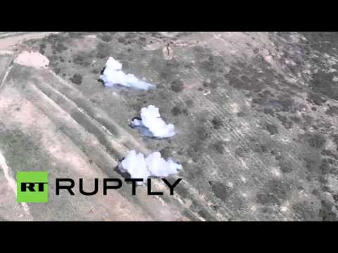 Syria: Army battles militants in the hilltops of northern Latakia *GRAPHIC*