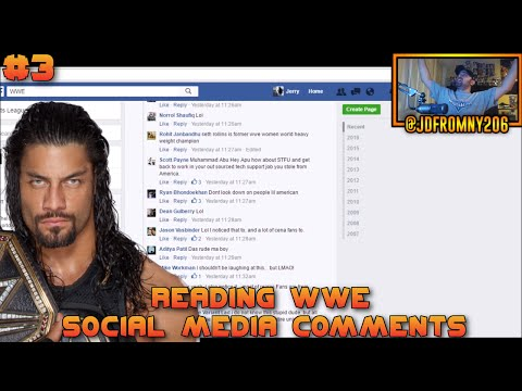 Reading WWE Social Media Comments #3 - ROMEN RAINS IS GOD OF EARTH & INDIA!