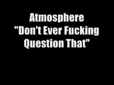 Atmosphere - Don