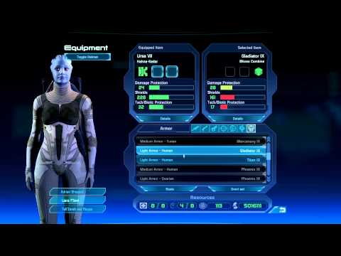 Mass Effect 1 HD Play Through Part 160: Landing on IlosJoker Style