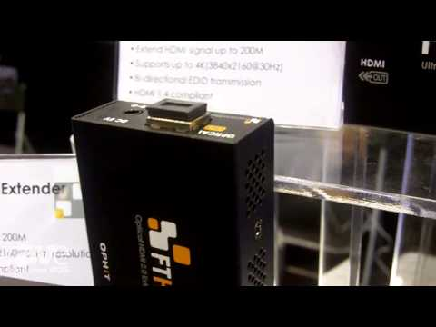 InfoComm 2015: OPHIT Exhibits Optical 4K HDMI Video Extender