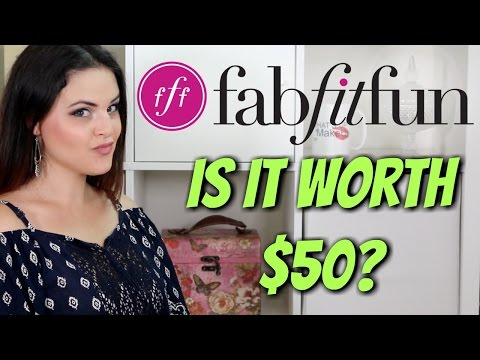 FabFitFun Fall 2016 Unboxing and First Impression | Jen Luvs Reviews