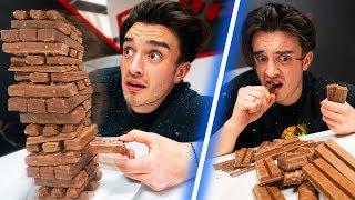 Jenga Food Tower Challenge!