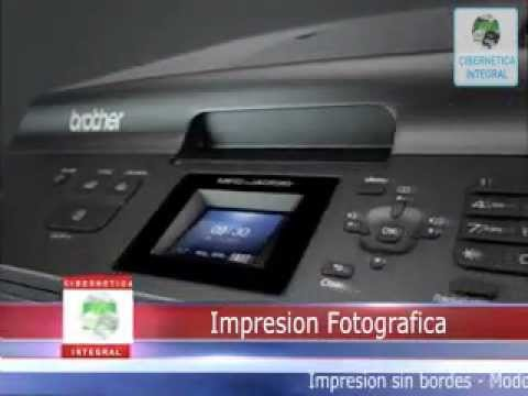 Multifuncional Brother MFC-j435w Impresora Scanner Copia Fax Con WIFI cartuchos recargables Oficio