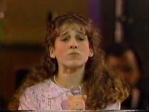 Sarah Jessica Parker performs Annie