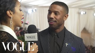 Download Lagu Michael B. Jordan on His High Expectations for the Met Gala | Met Gala 2018 With Liza Koshy | Vogue Gratis STAFABAND